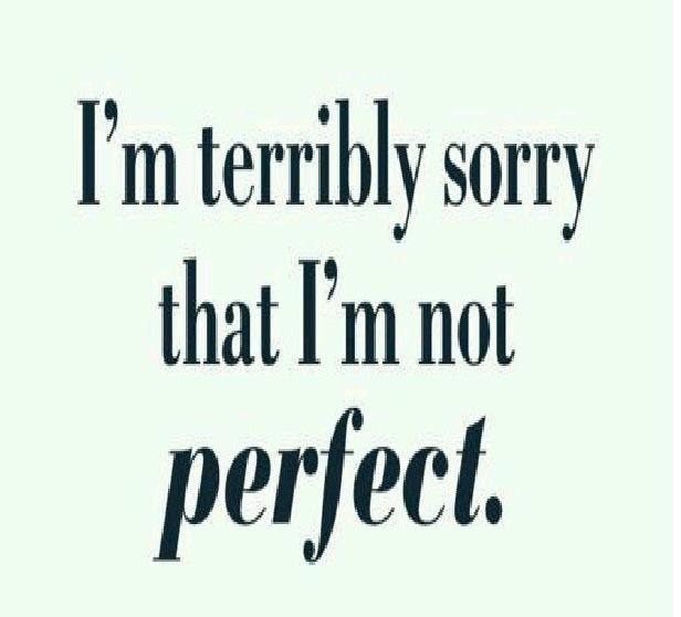 citater om undskyldninger I´m Sorry – Erkender gerne at jeg ikke er perfekt – Endnu.   Lindheart citater om undskyldninger